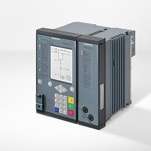 SIPROTEC 6MD85 - 4xI 4xU, расширяемая аппаратная часть, сети распределения электроэнерги, функции защиты, устр-во измерения параметров векторов