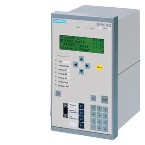 SIPROTEC 7UT612 - 7xI, текстовый дисплей, 2-обмоточные трансформаторы, сборные шины