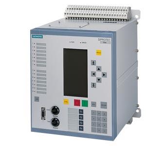 SIPROTEC 7SA63 - 4xI 4xU, графический дисплей, 1-/3-фазное отключение
