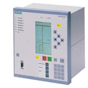 SIPROTEC 7VE6 - 6xU,текстовый или графический дисплей, синхронизация электроэнергетических систем и генераторов